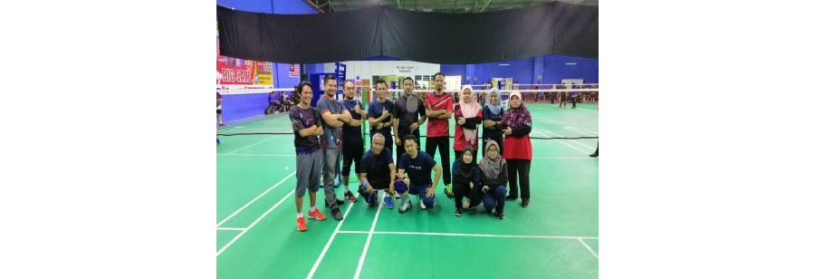 Perlawanan Sukan Badminton di bawah KATS